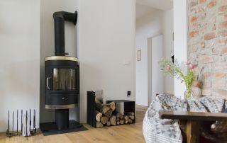 Boemski dom - kaminska peč