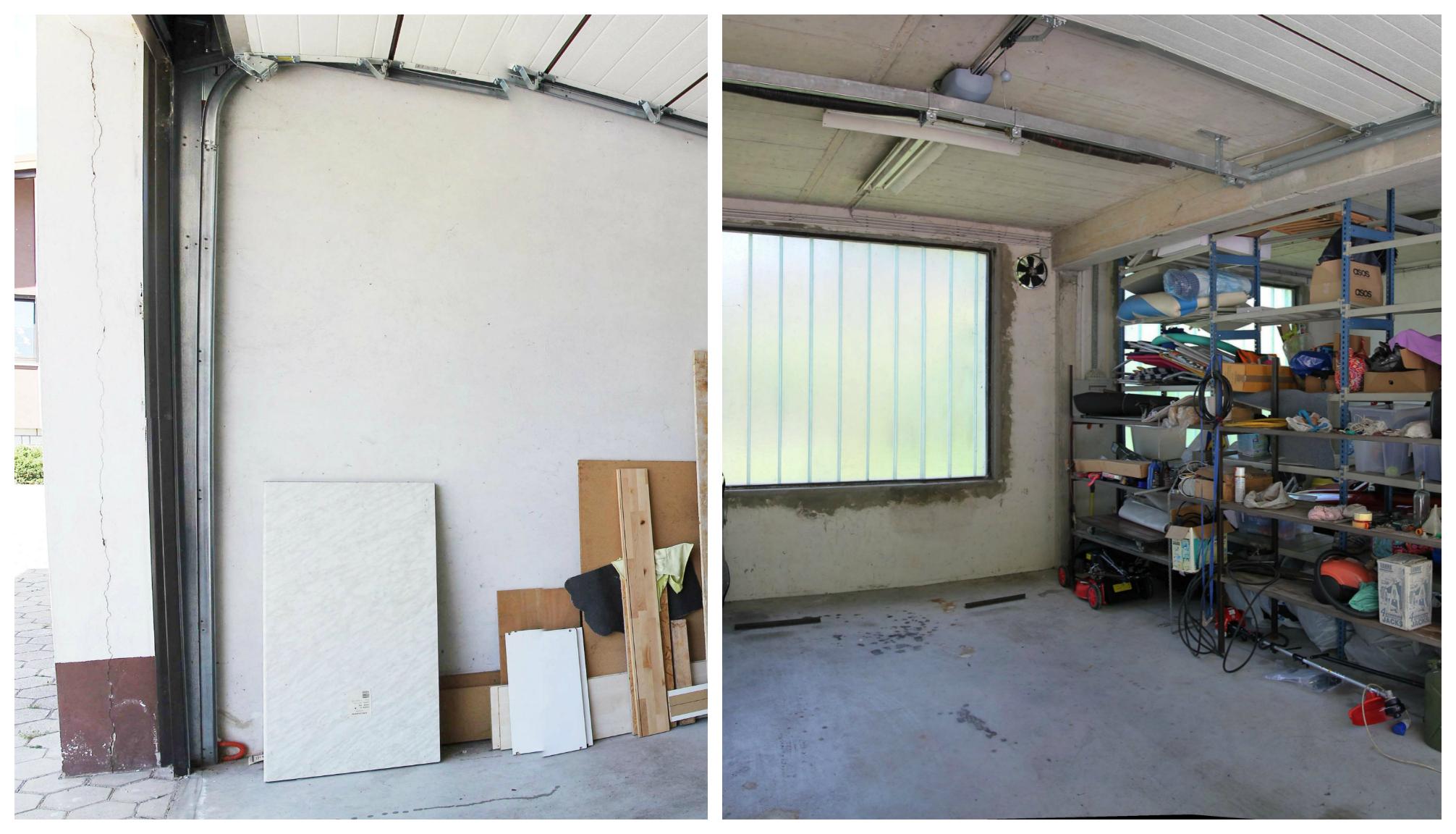 Garaža prej