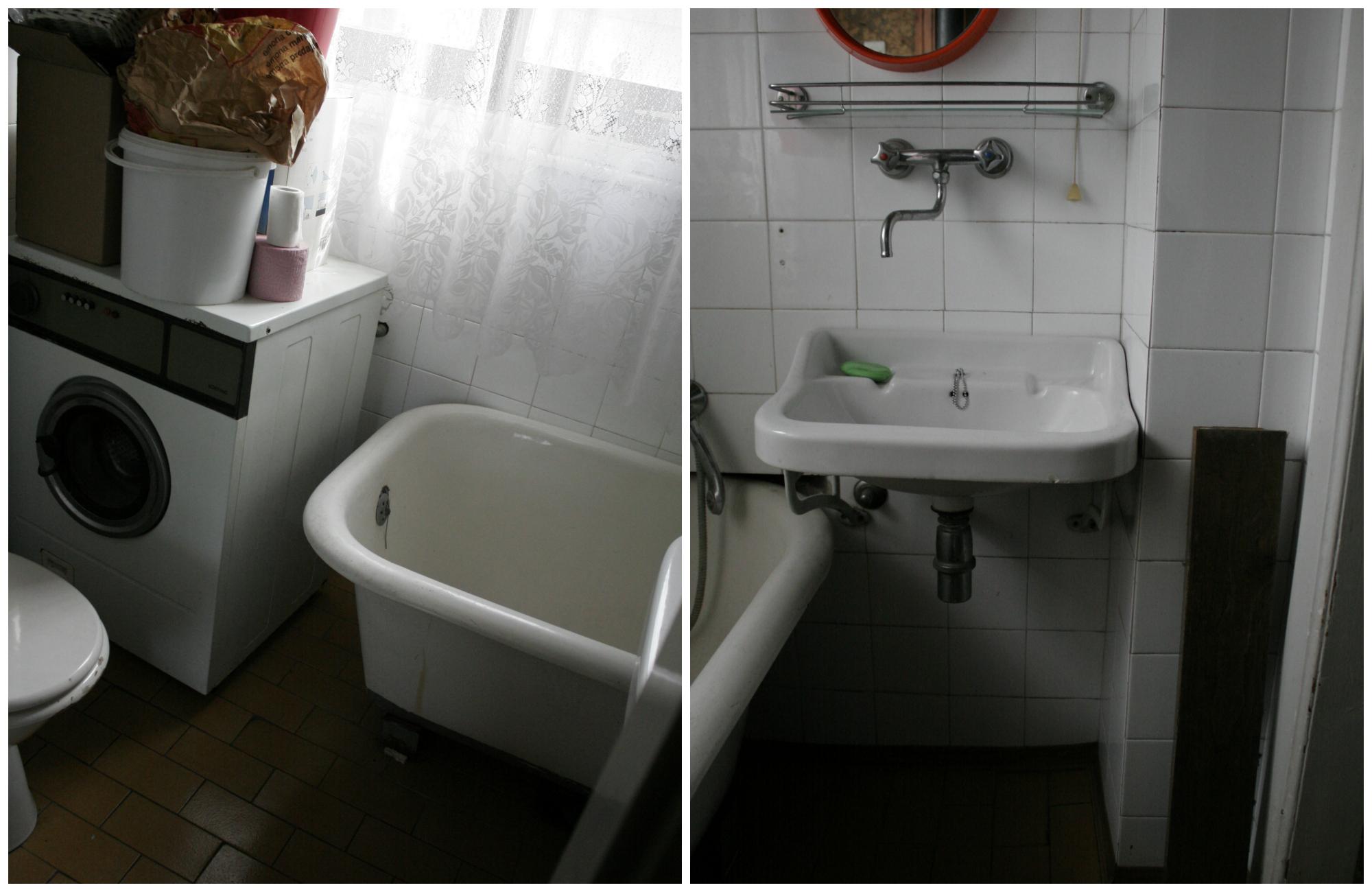 Boemski dom - kopalnica prej